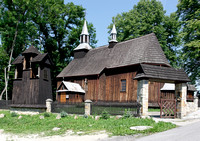 Chronow - historic wooden church